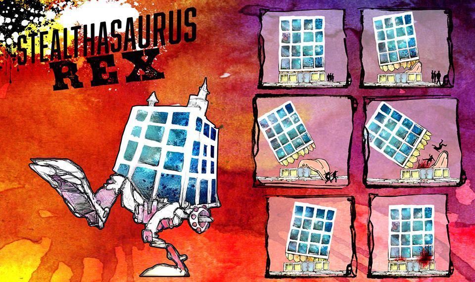 stealthasaurus rext