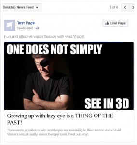 One Does Not Simply See in 3D